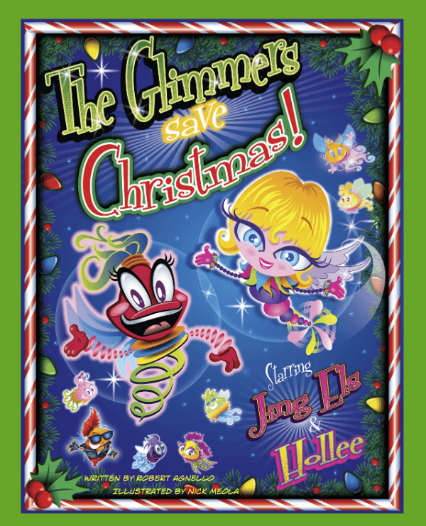 The Glimmers Save Christmas - Childrens Comic