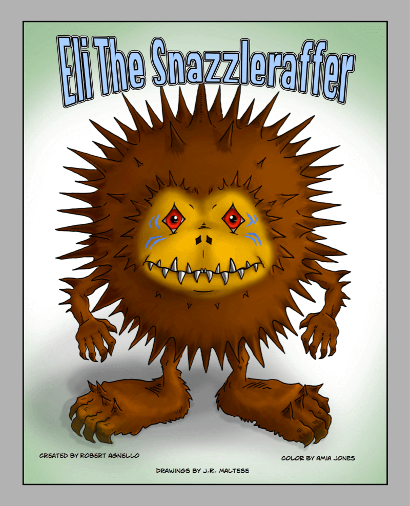 Eli the Snazzleraffer - Book for Young Readers with Coloring Pages